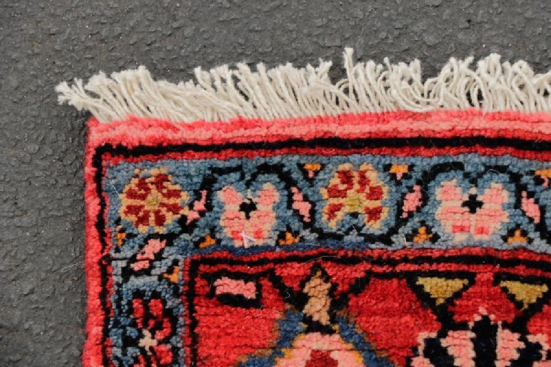 Hand Woven Semi Antique Persian Malayer Runner - 5