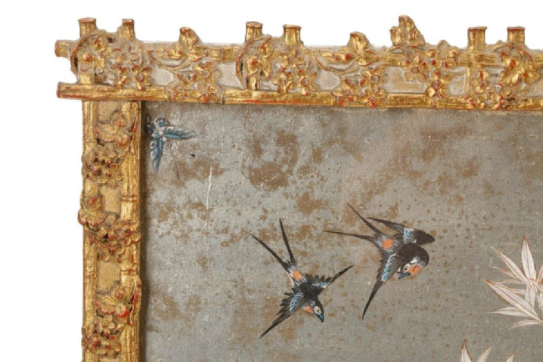 Attributed to Gracie, Hand Painted Wallpaper Panel - 4
