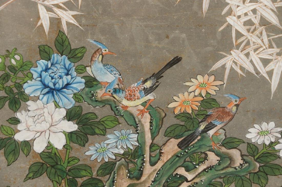 Attributed to Gracie, Hand Painted Wallpaper Panel - 5