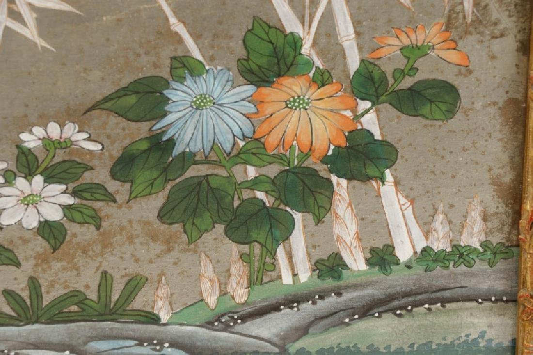 Attributed to Gracie, Hand Painted Wallpaper Panel - 7