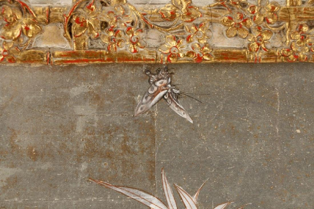 Attributed to Gracie, Hand Painted Wallpaper Panel - 8