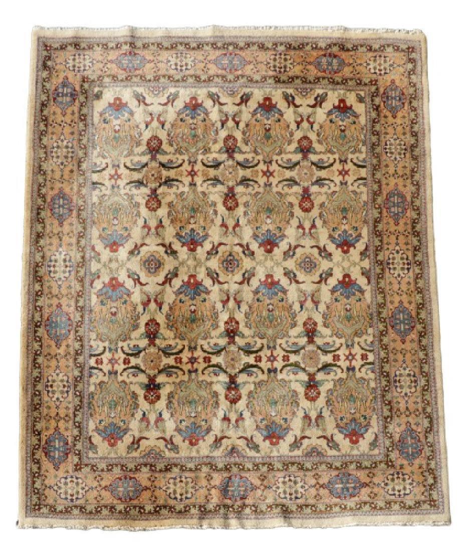 "Hand Woven Persian Tabriz, 5' 11.5"" x 9' 1"""