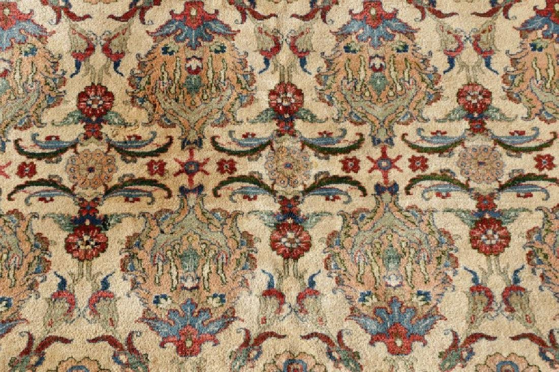 "Hand Woven Persian Tabriz, 5' 11.5"" x 9' 1"" - 2"