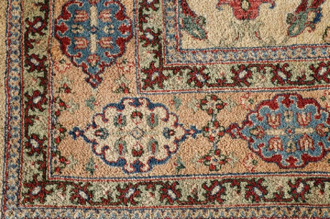 "Hand Woven Persian Tabriz, 5' 11.5"" x 9' 1"" - 3"