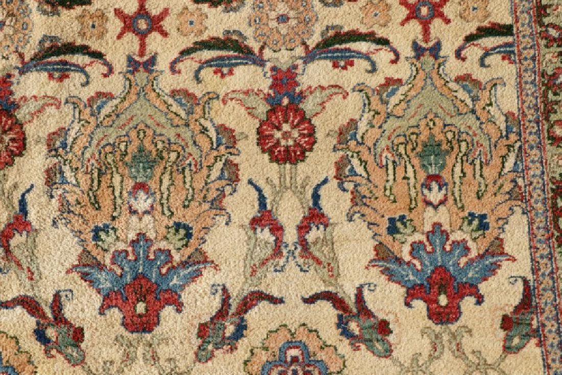 "Hand Woven Persian Tabriz, 5' 11.5"" x 9' 1"" - 4"