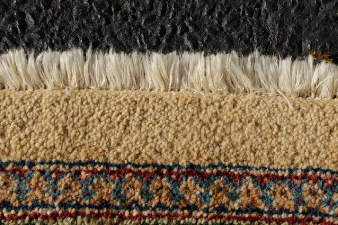 "Hand Woven Persian Tabriz, 5' 11.5"" x 9' 1"" - 5"