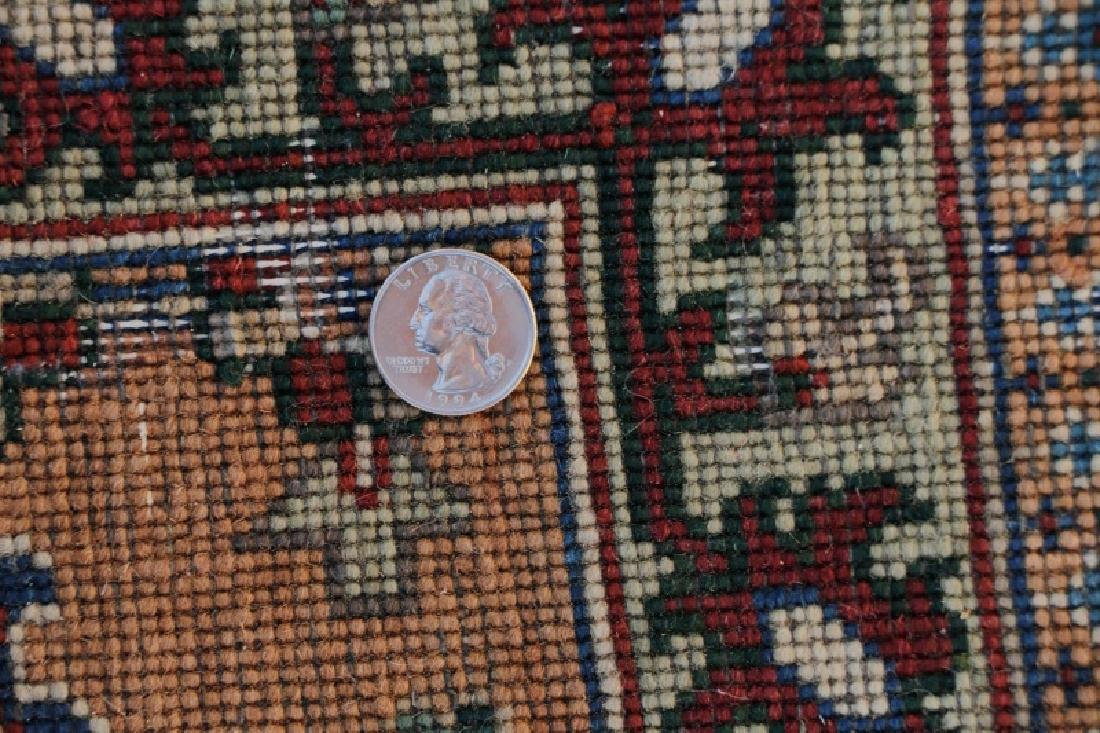 "Hand Woven Persian Tabriz, 5' 11.5"" x 9' 1"" - 6"