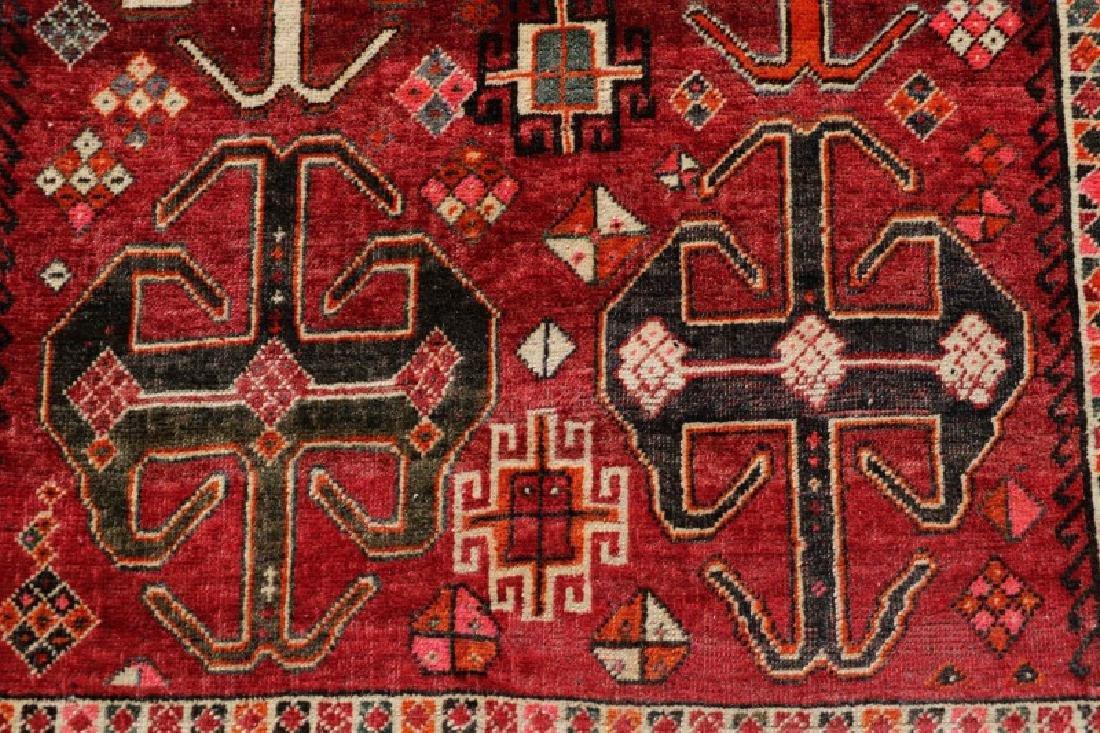 "Hand Woven Persian Tribal Rug, 3' 8"" x 6' 9"" - 2"
