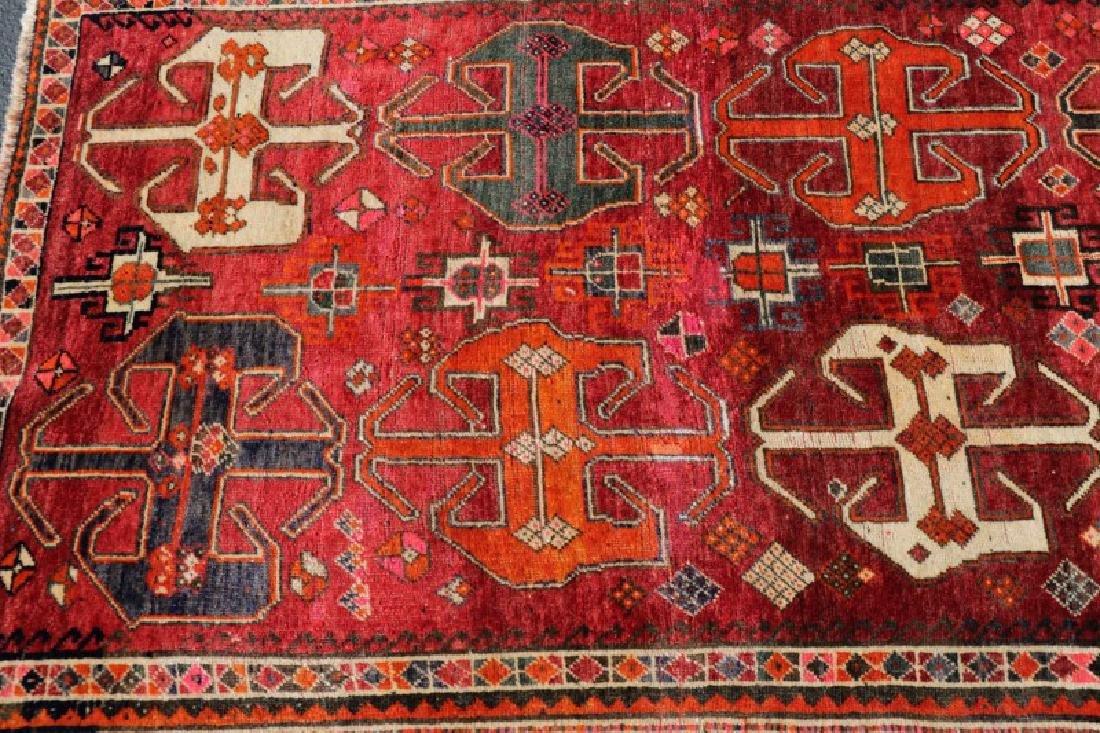 "Hand Woven Persian Tribal Rug, 3' 8"" x 6' 9"" - 3"