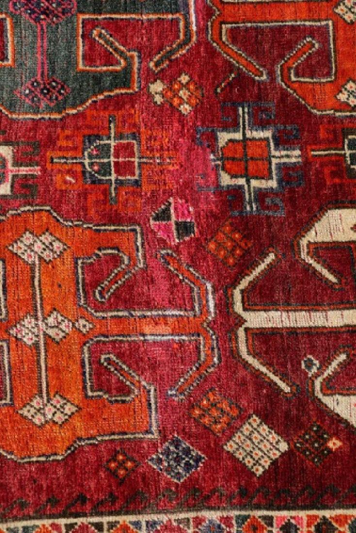 "Hand Woven Persian Tribal Rug, 3' 8"" x 6' 9"" - 4"