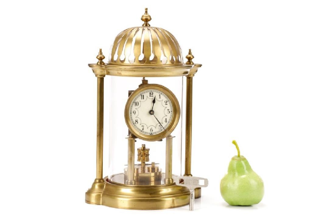 German Disk Pendulum 400 Day Anniversary Clock - 10