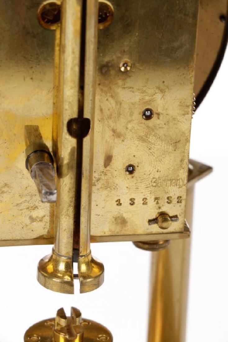 German Disk Pendulum 400 Day Anniversary Clock - 4