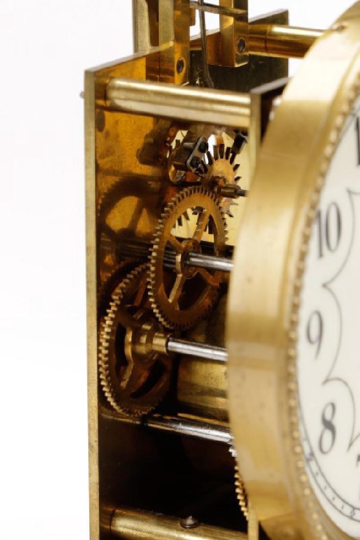 German Disk Pendulum 400 Day Anniversary Clock - 6