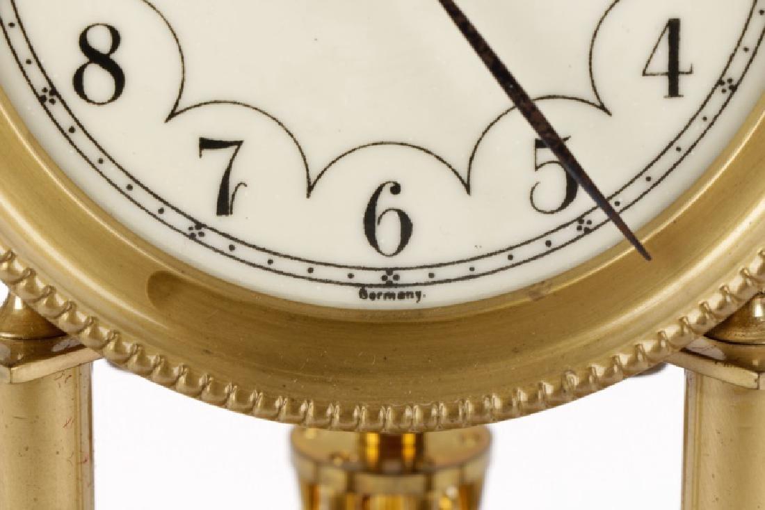 German Disk Pendulum 400 Day Anniversary Clock - 8