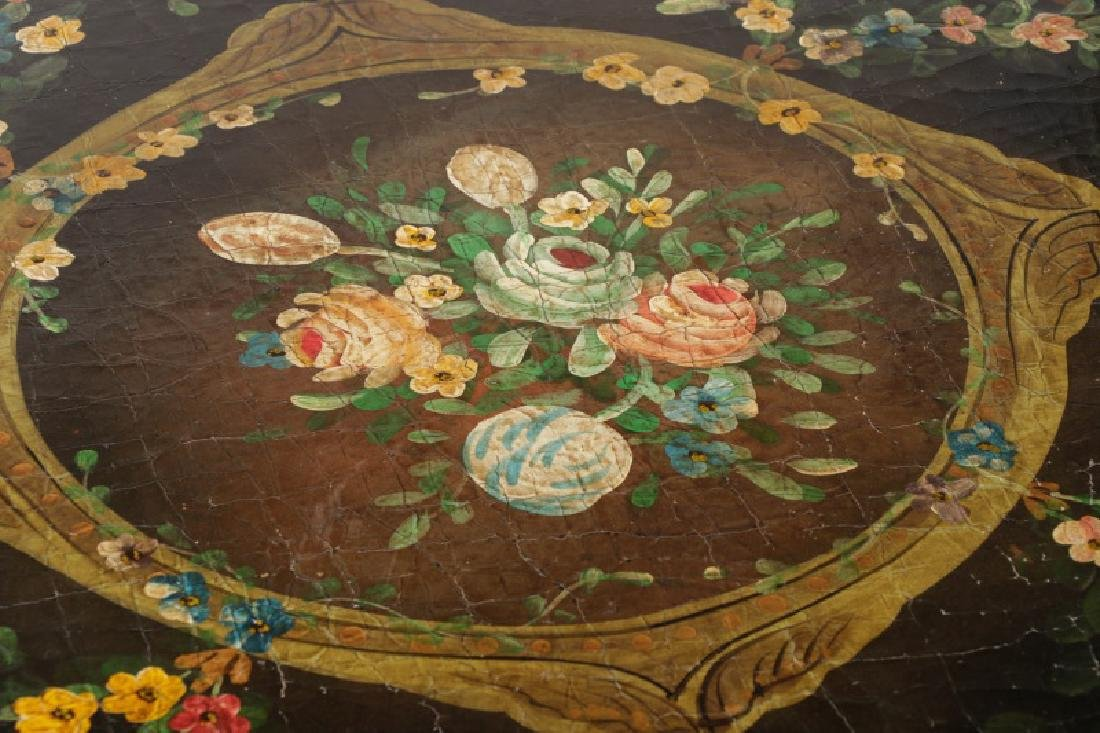 Pair, Renaissance Revival Style Painted Tables - 5