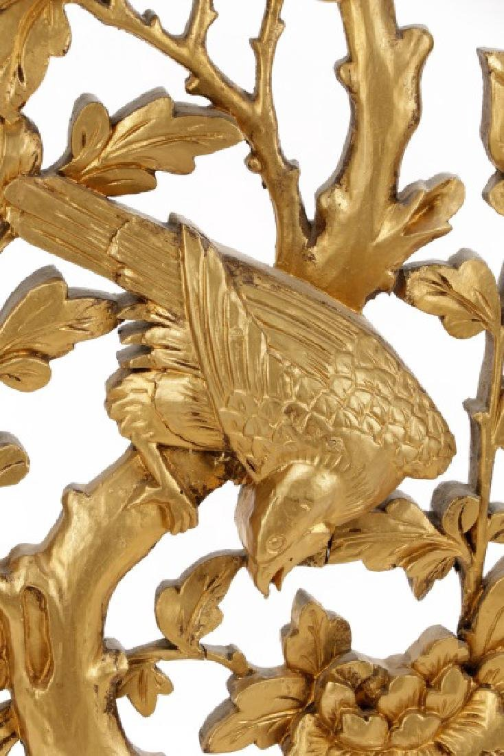 Pair Giltwood Aesthetic Movement Wall Appliques - 4