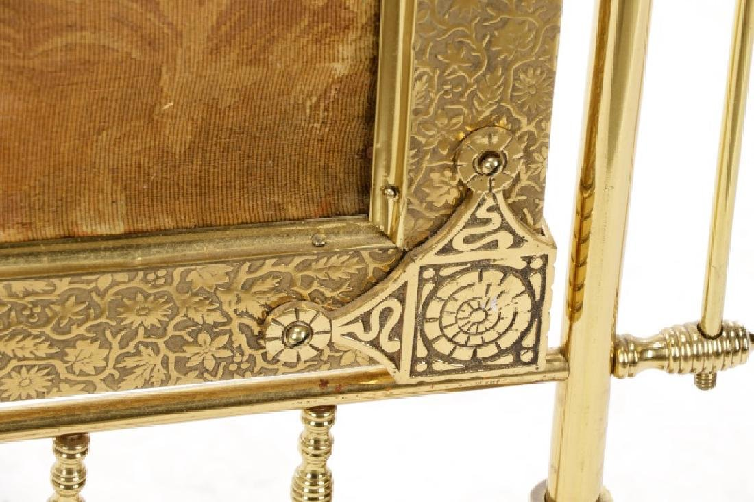 Gilt Brass Aesthetic Movement Style Fire Screen - 10