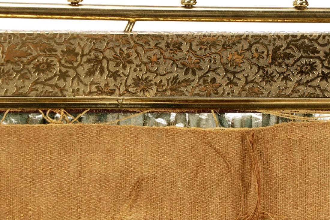 Gilt Brass Aesthetic Movement Style Fire Screen - 9