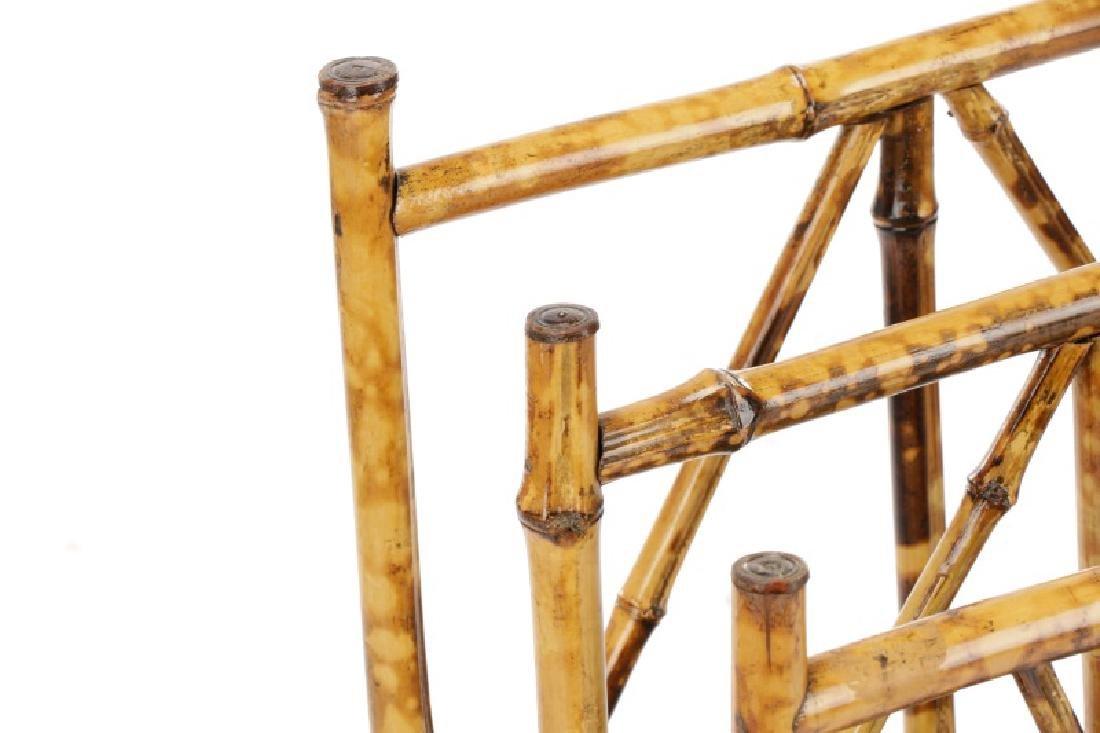 Aesthetic Movement Bamboo Newspaper Rack - 2