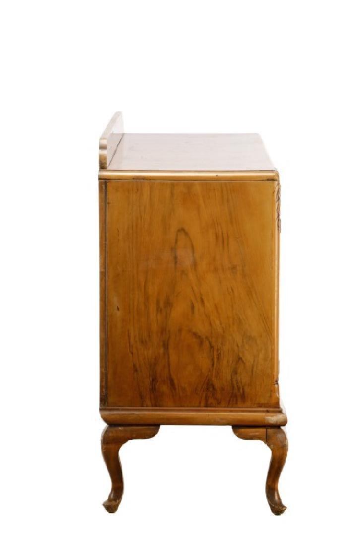 American Art Deco Walnut Sideboard - 6
