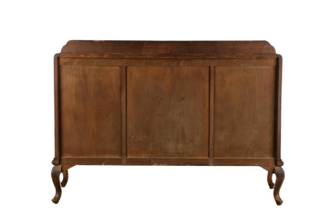American Art Deco Walnut Sideboard - 7