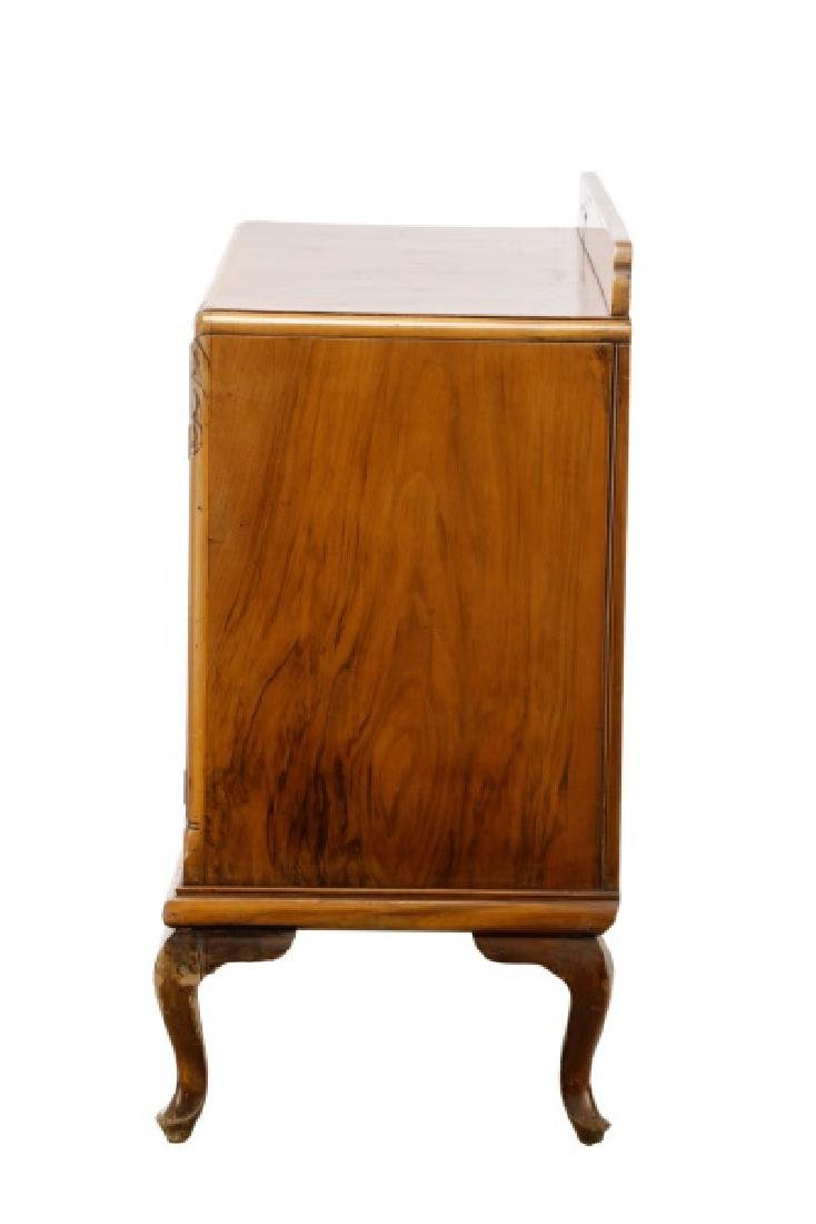 American Art Deco Walnut Sideboard - 8