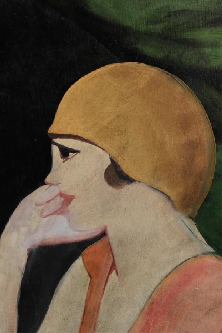 "Circle of Hugo Scheiber ""At the Cafe"", O/B Signed - 4"