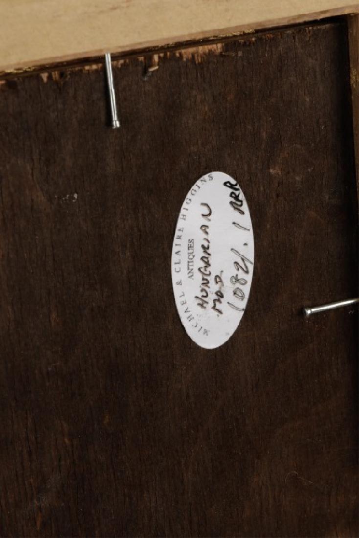 "Circle of Hugo Scheiber ""At the Cafe"", O/B Signed - 8"