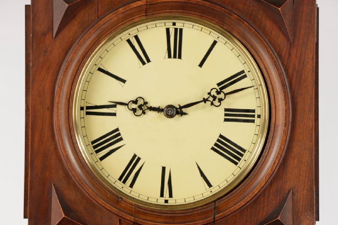 Lorenz Furtwangler & Sohne Walnut Tall Case Clock - 2
