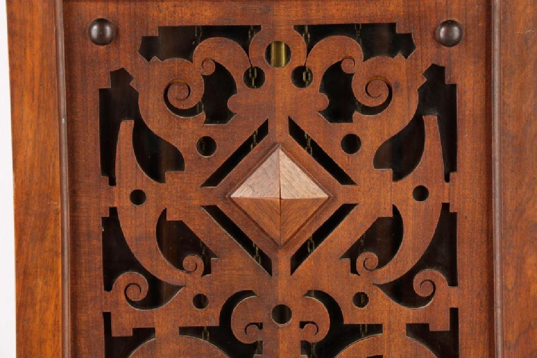 Lorenz Furtwangler & Sohne Walnut Tall Case Clock - 3