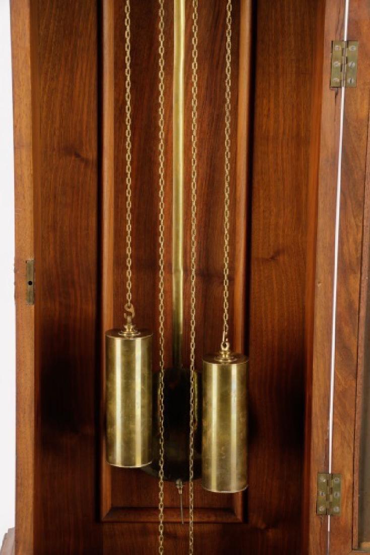 Lorenz Furtwangler & Sohne Walnut Tall Case Clock - 5