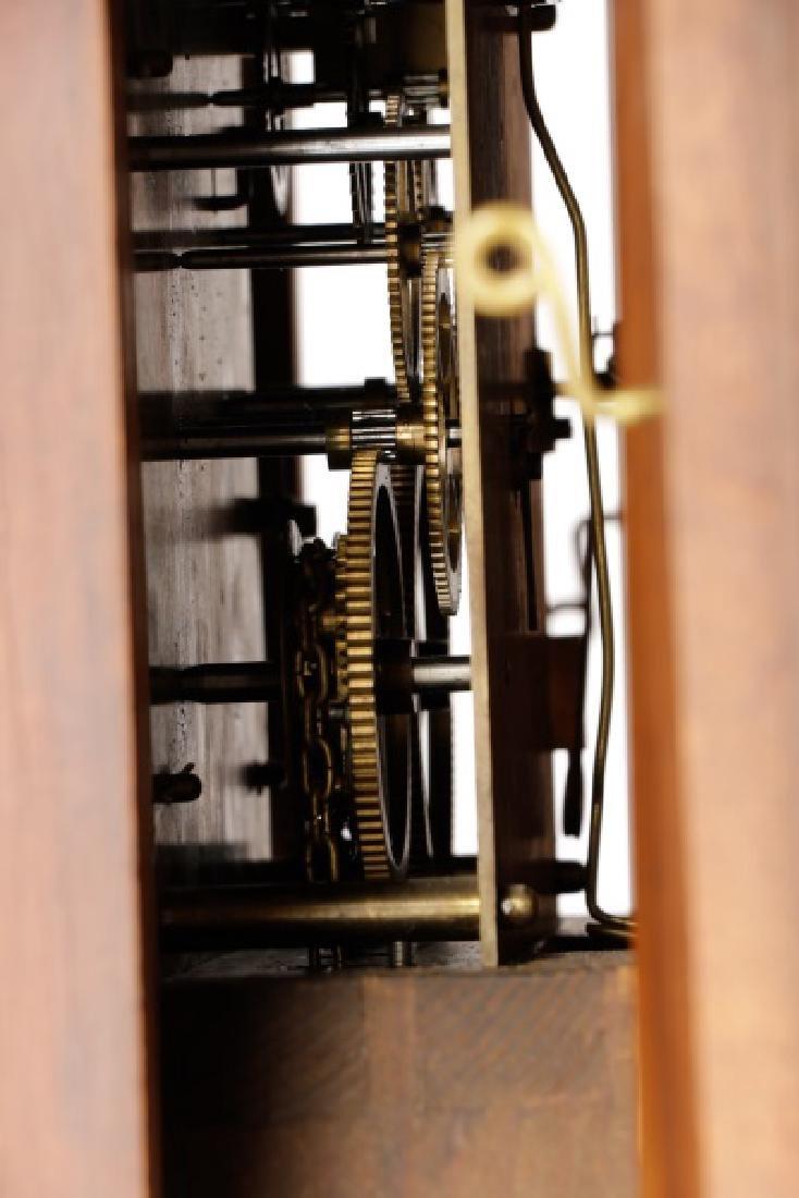 Lorenz Furtwangler & Sohne Walnut Tall Case Clock - 6