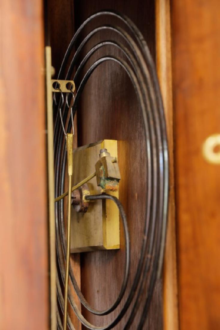 Lorenz Furtwangler & Sohne Walnut Tall Case Clock - 7