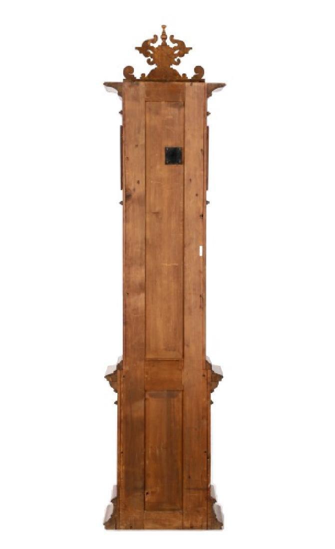 Lorenz Furtwangler & Sohne Walnut Tall Case Clock - 8
