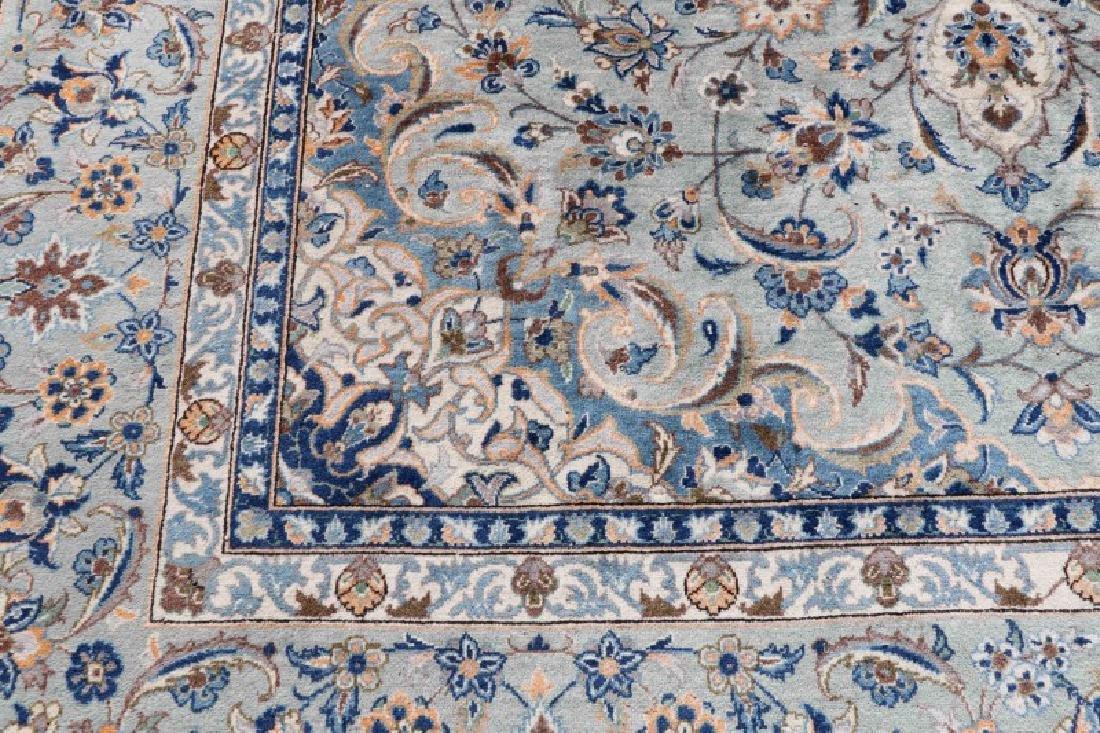 "Hand Woven Persian Kashan, 9' 7"" x 13' 7"" - 2"