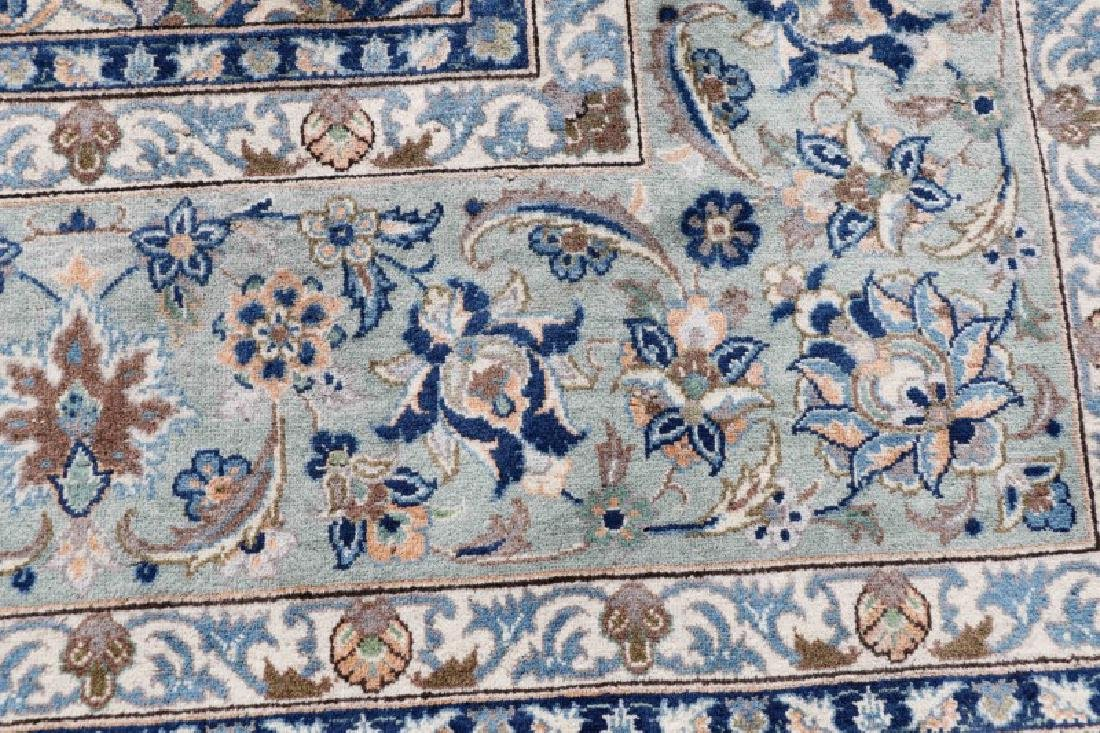 "Hand Woven Persian Kashan, 9' 7"" x 13' 7"" - 4"