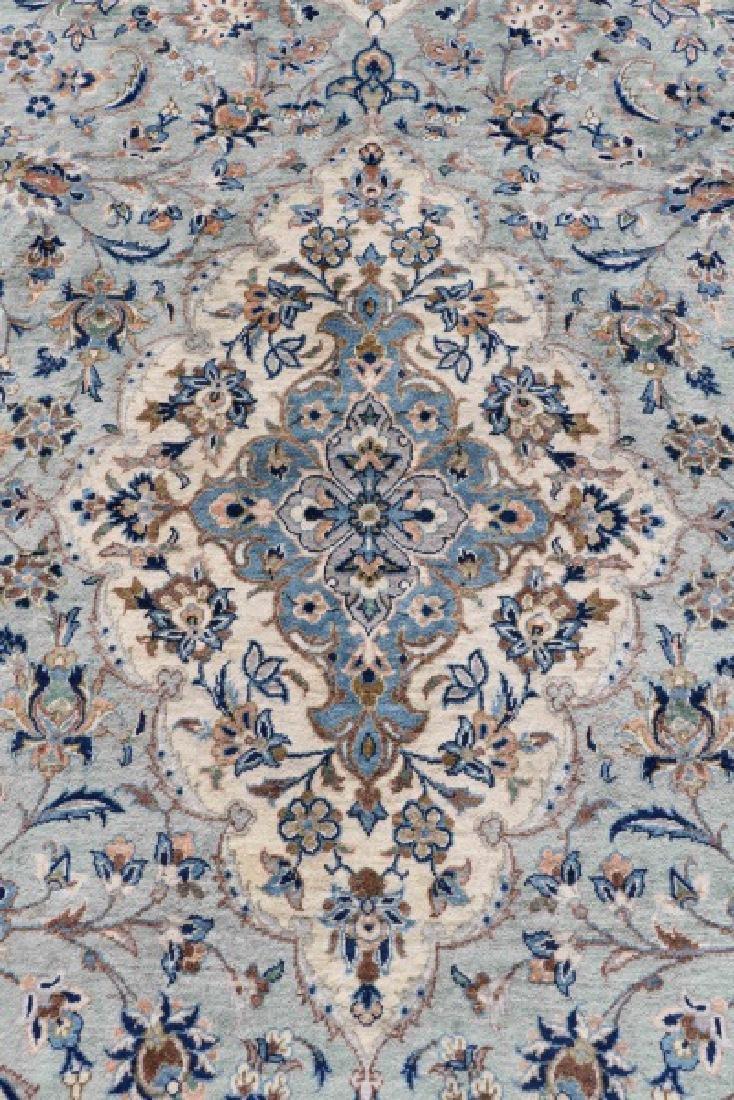 "Hand Woven Persian Kashan, 9' 7"" x 13' 7"" - 5"