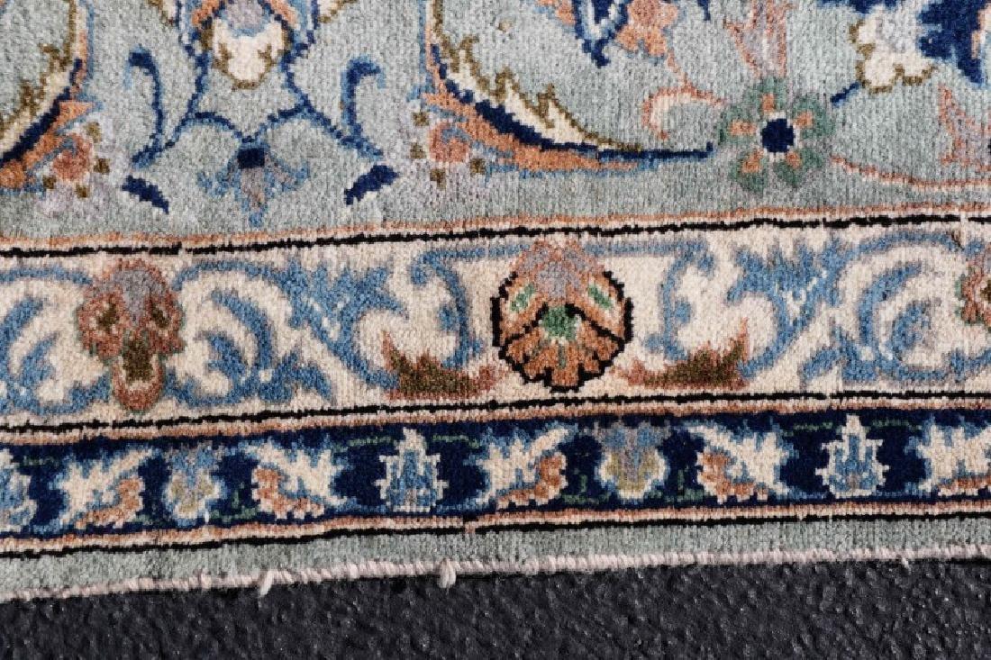 "Hand Woven Persian Kashan, 9' 7"" x 13' 7"" - 6"