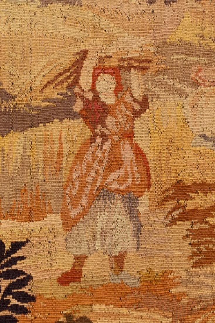 French Pastoral Wall Hanging Tapestry - 2