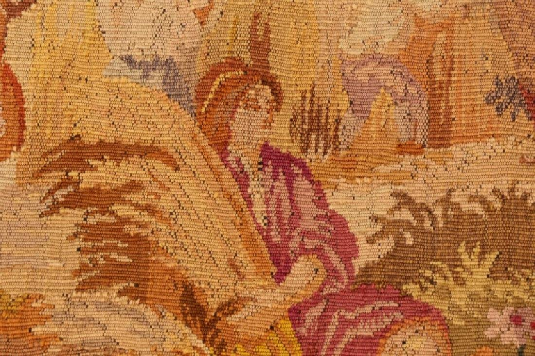 French Pastoral Wall Hanging Tapestry - 4