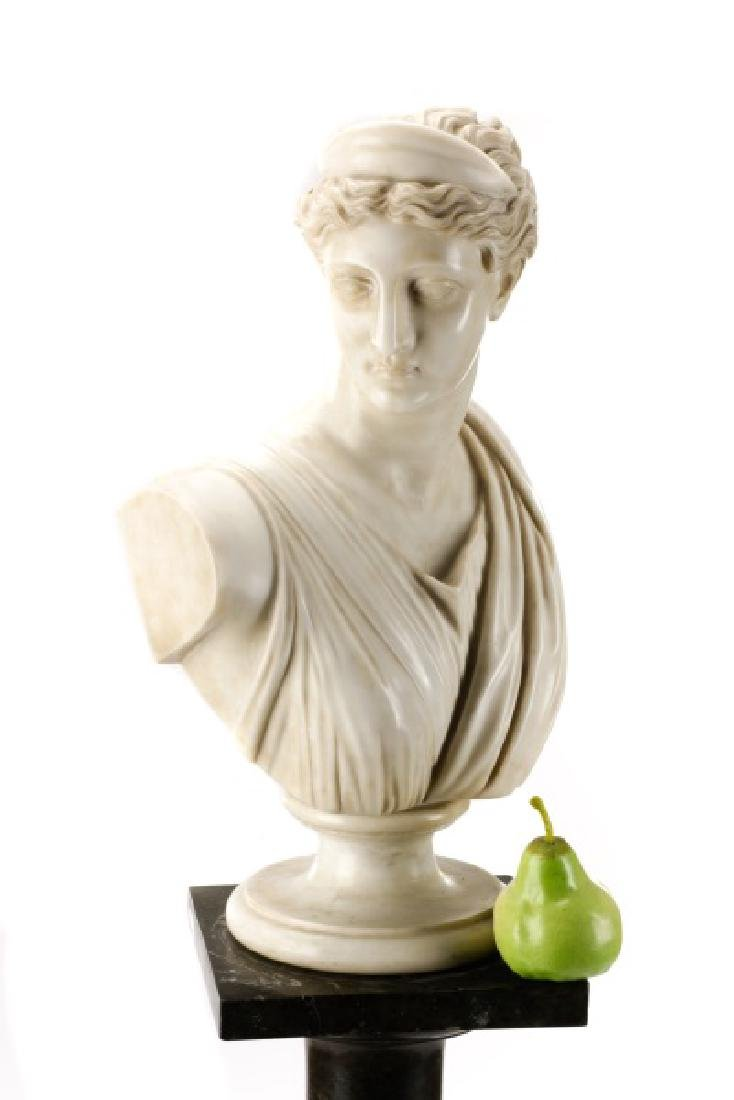 """After Leochares, """"Diana the Huntress"""", Marble - 10"""