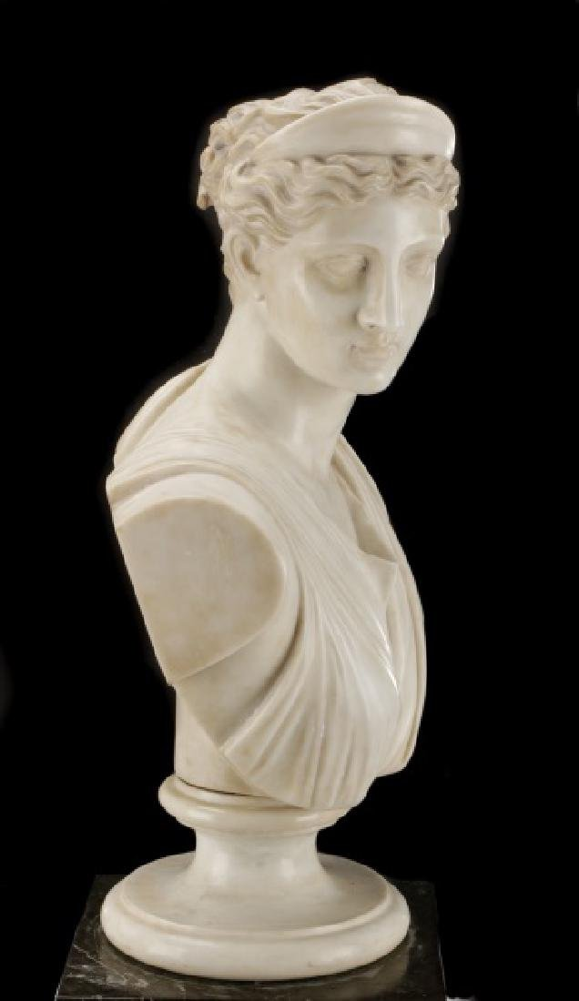 """After Leochares, """"Diana the Huntress"""", Marble - 6"""