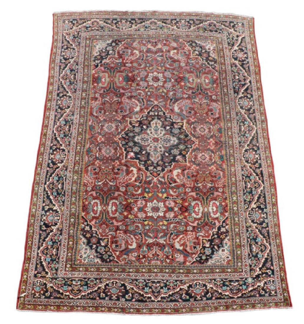 Palace Size Hand Woven Persian Mahal Area Rug