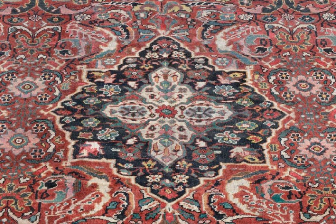 Palace Size Hand Woven Persian Mahal Area Rug - 2