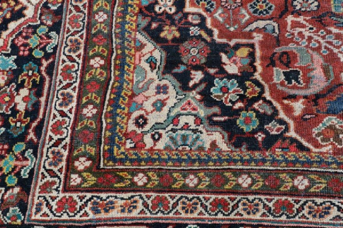 Palace Size Hand Woven Persian Mahal Area Rug - 3