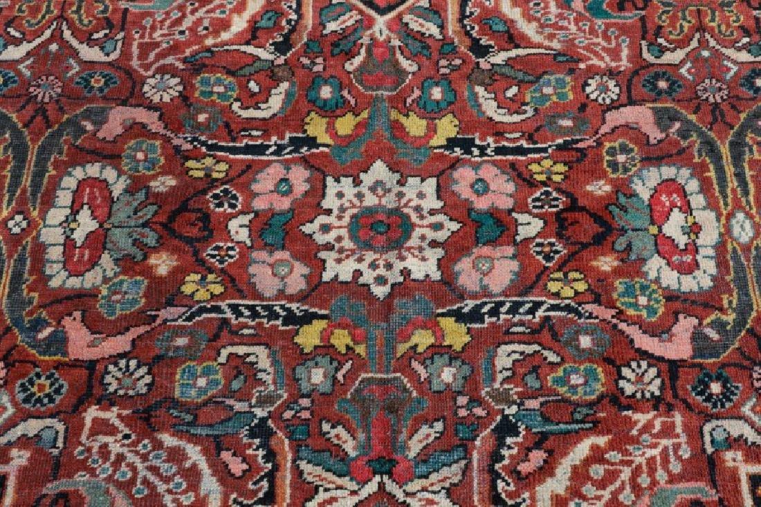 Palace Size Hand Woven Persian Mahal Area Rug - 4