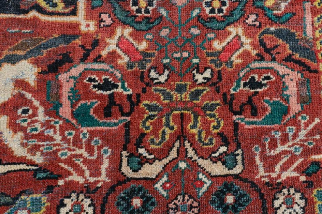 Palace Size Hand Woven Persian Mahal Area Rug - 5
