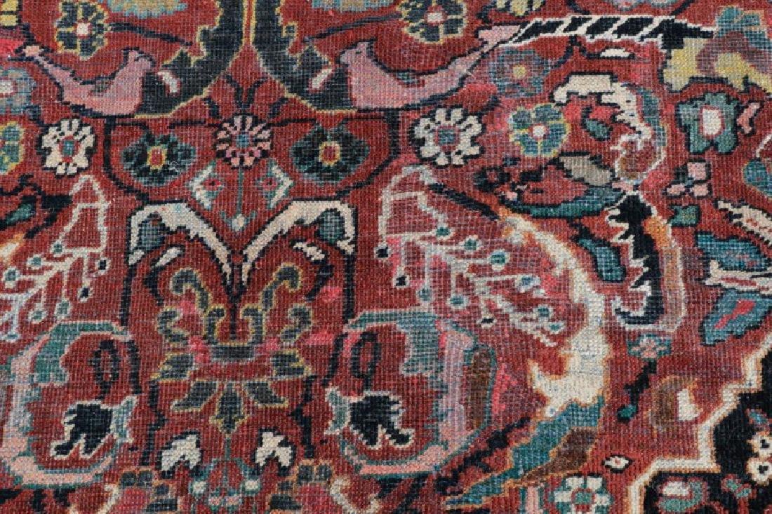 Palace Size Hand Woven Persian Mahal Area Rug - 6