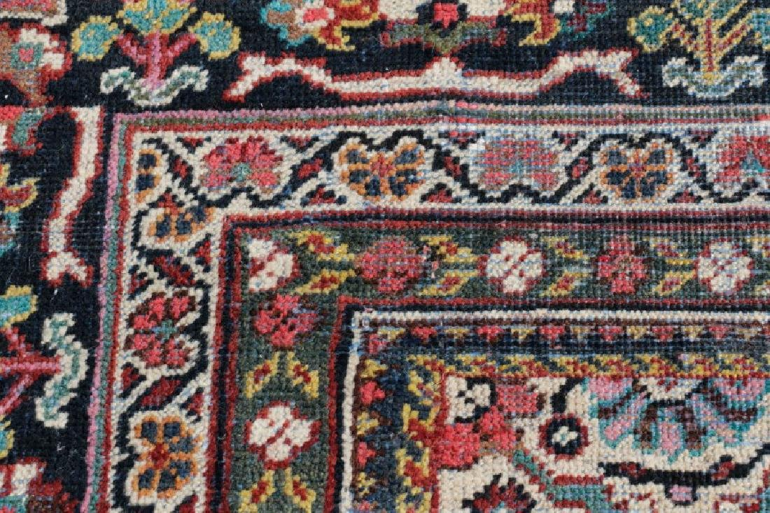 Palace Size Hand Woven Persian Mahal Area Rug - 7