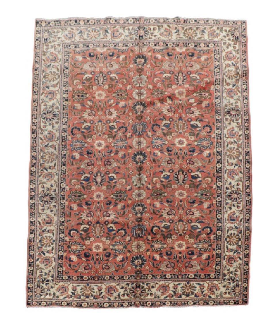 "Hand Woven Persian Tabriz Rug, 8' 1"" x 10' 6'"